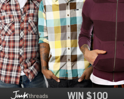 Win Some Threads: Jack Threads $100 Giveaway