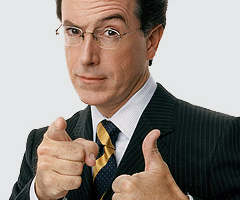Stephen Colbert: America's Great or Greatest News Correspondent?